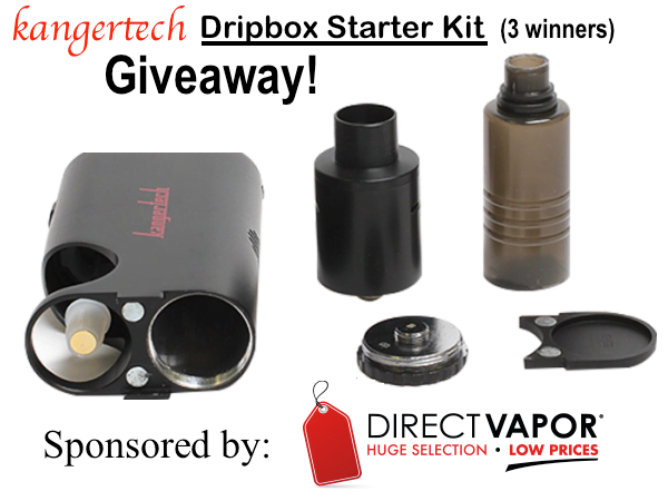 The Vape Trader KangerTech Dripbox Giveaway