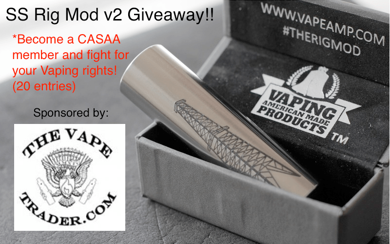 Stainless Rig Mod V2 Giveaway