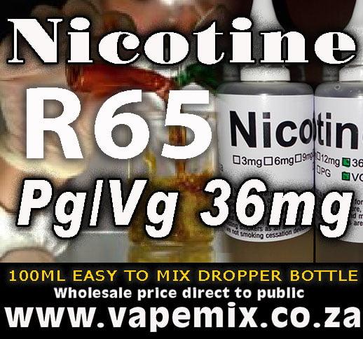nicotine advert