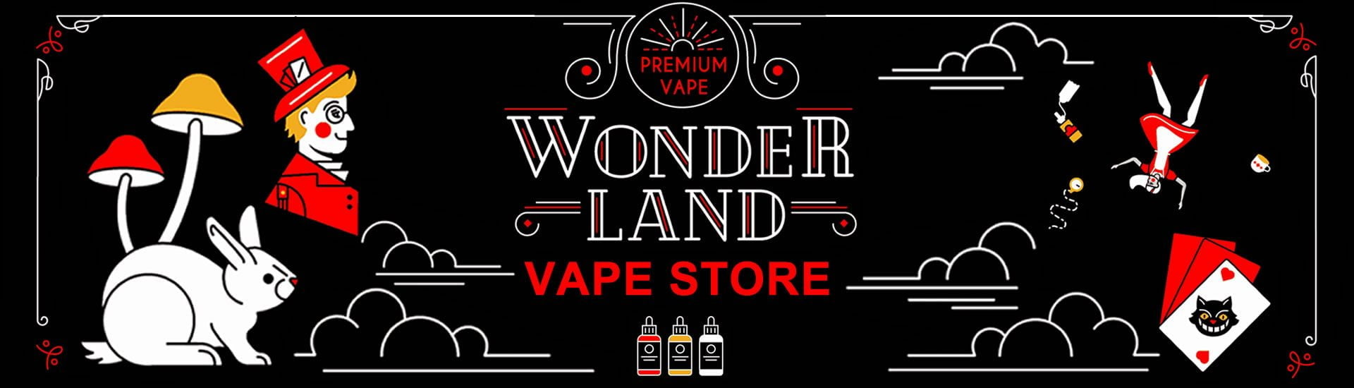 Wonderland Online Vape Store Now Open